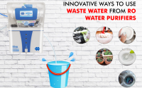 How to use waste water generated by ro?